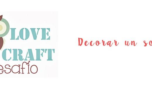 Desafío Love Craft. Decorar un sobre
