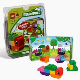 Lego Duplo, Lee y construye, Crece oruga crece