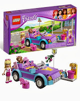Lego Friends El descapotable de Estephanie