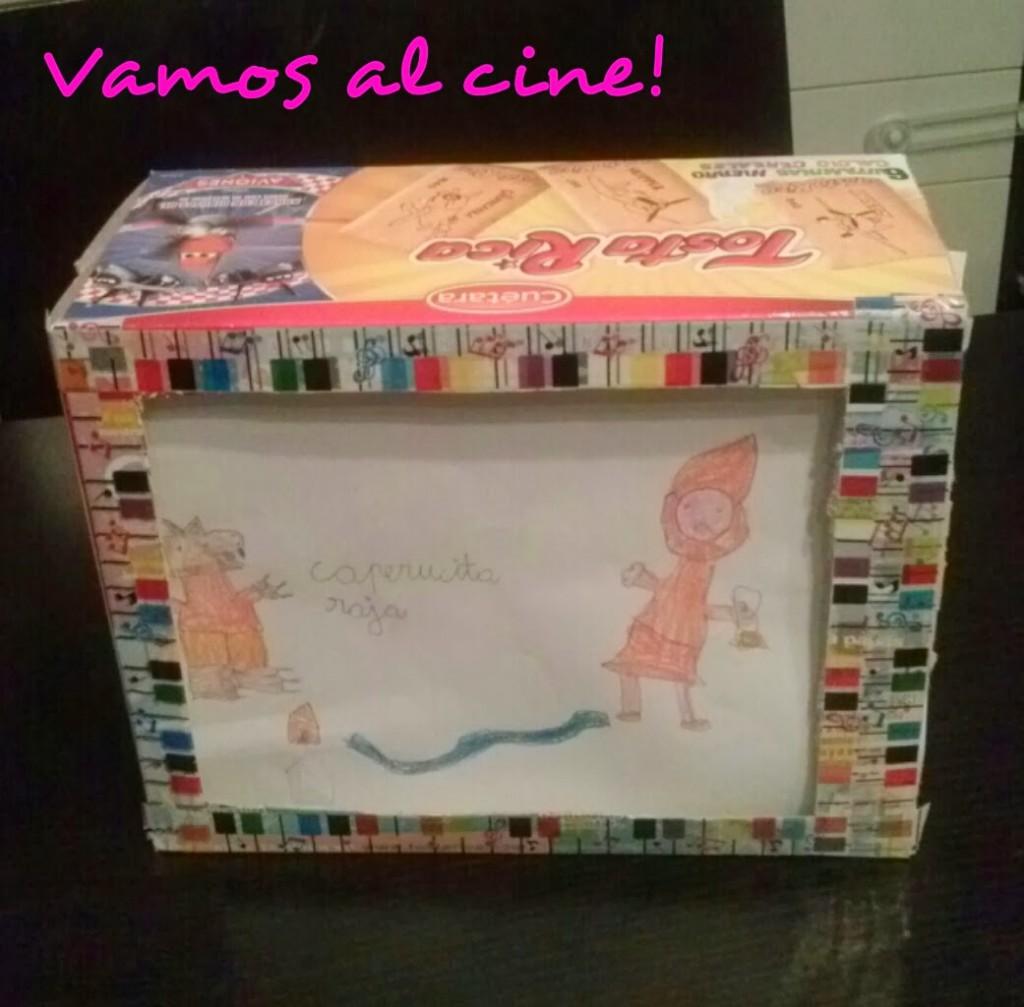 Manualideando: Cine de cartón