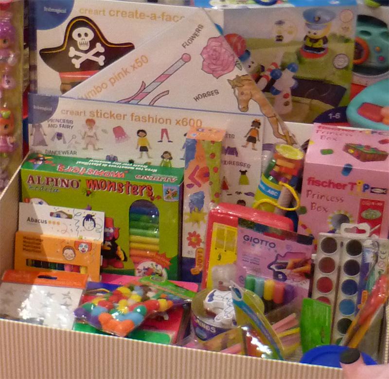 ideas de regalo una caja de manualidades para ni os