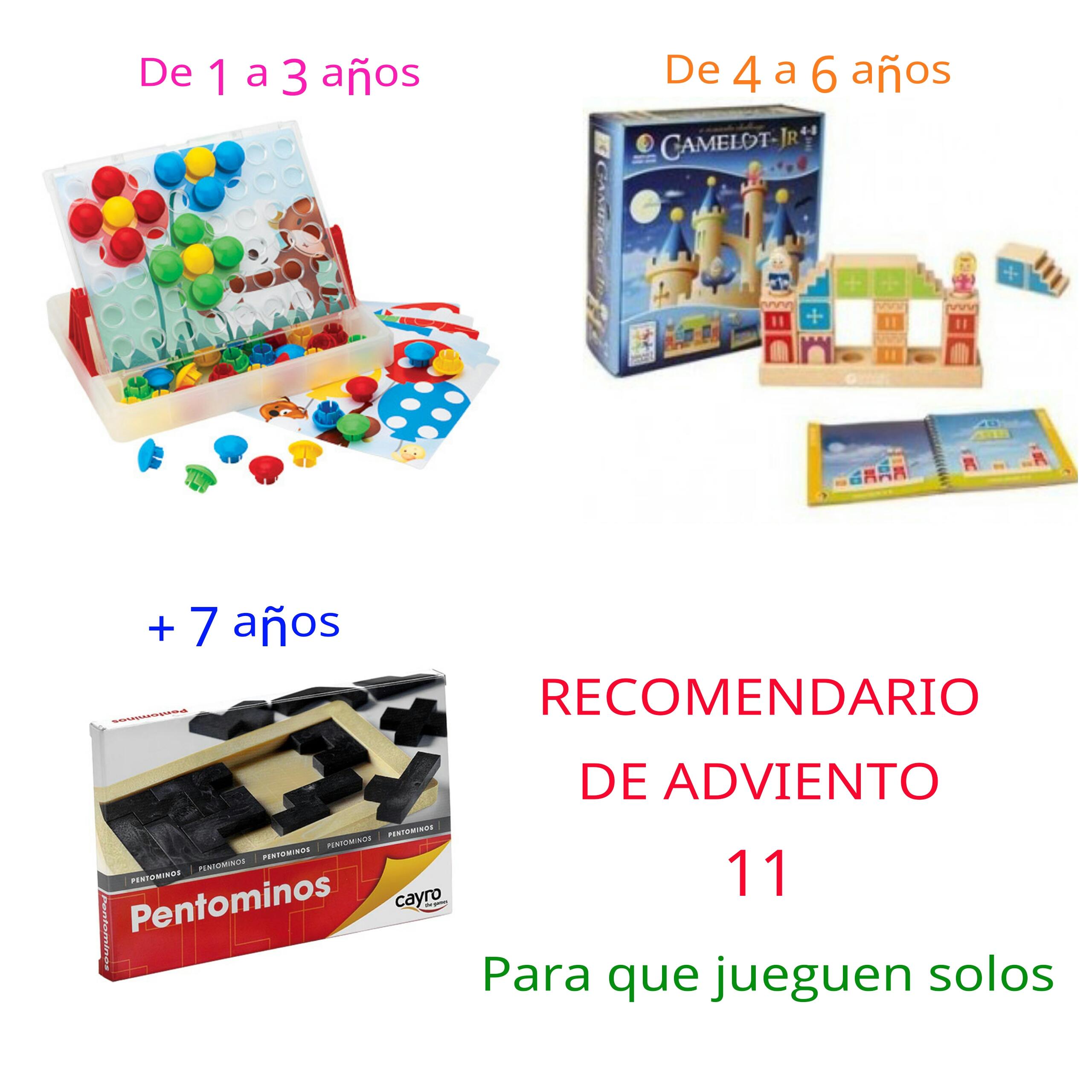 Ideas de regalos para niños. Recomendario de adviento 11