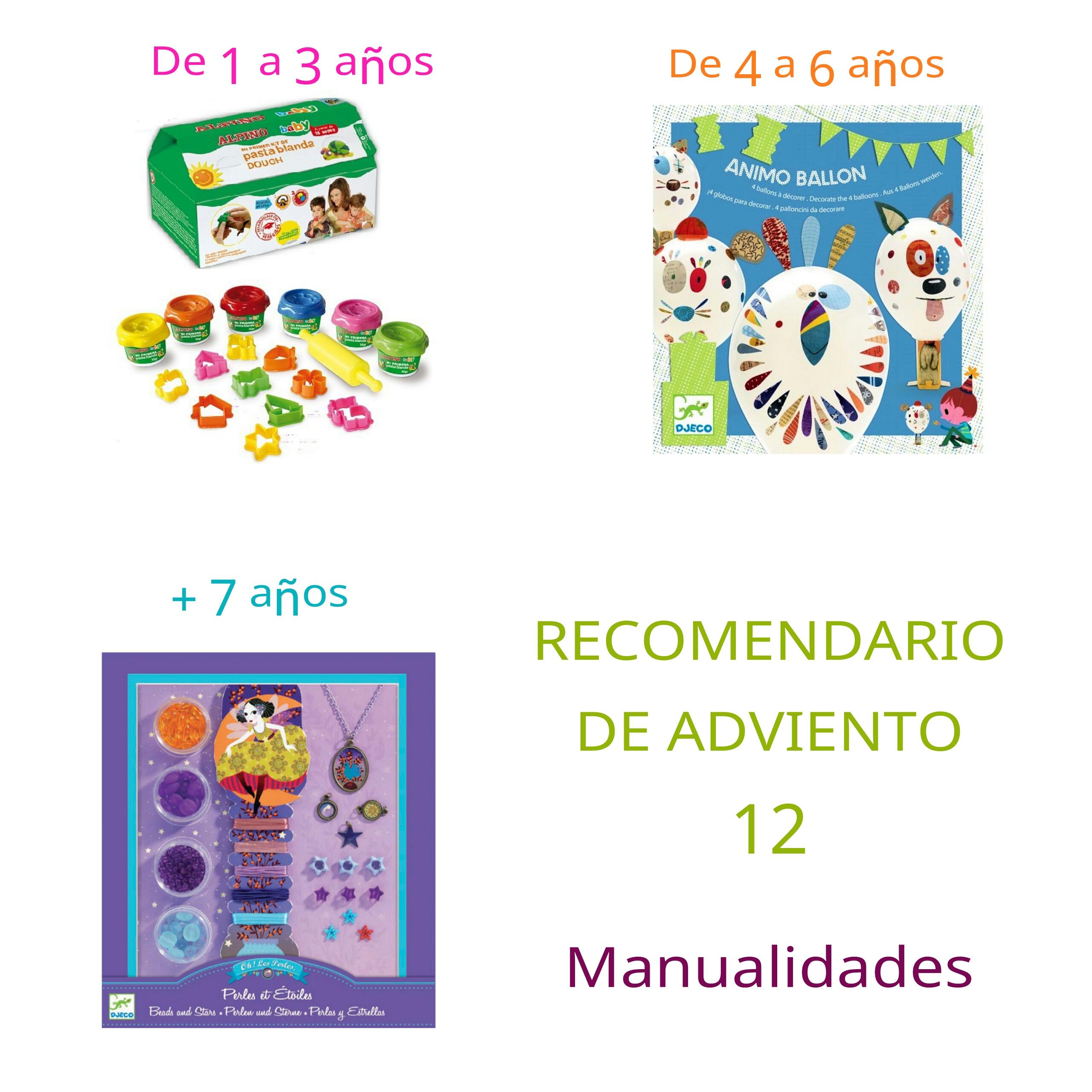 Ideas de regalos para niños. Recomendario de adviento 12