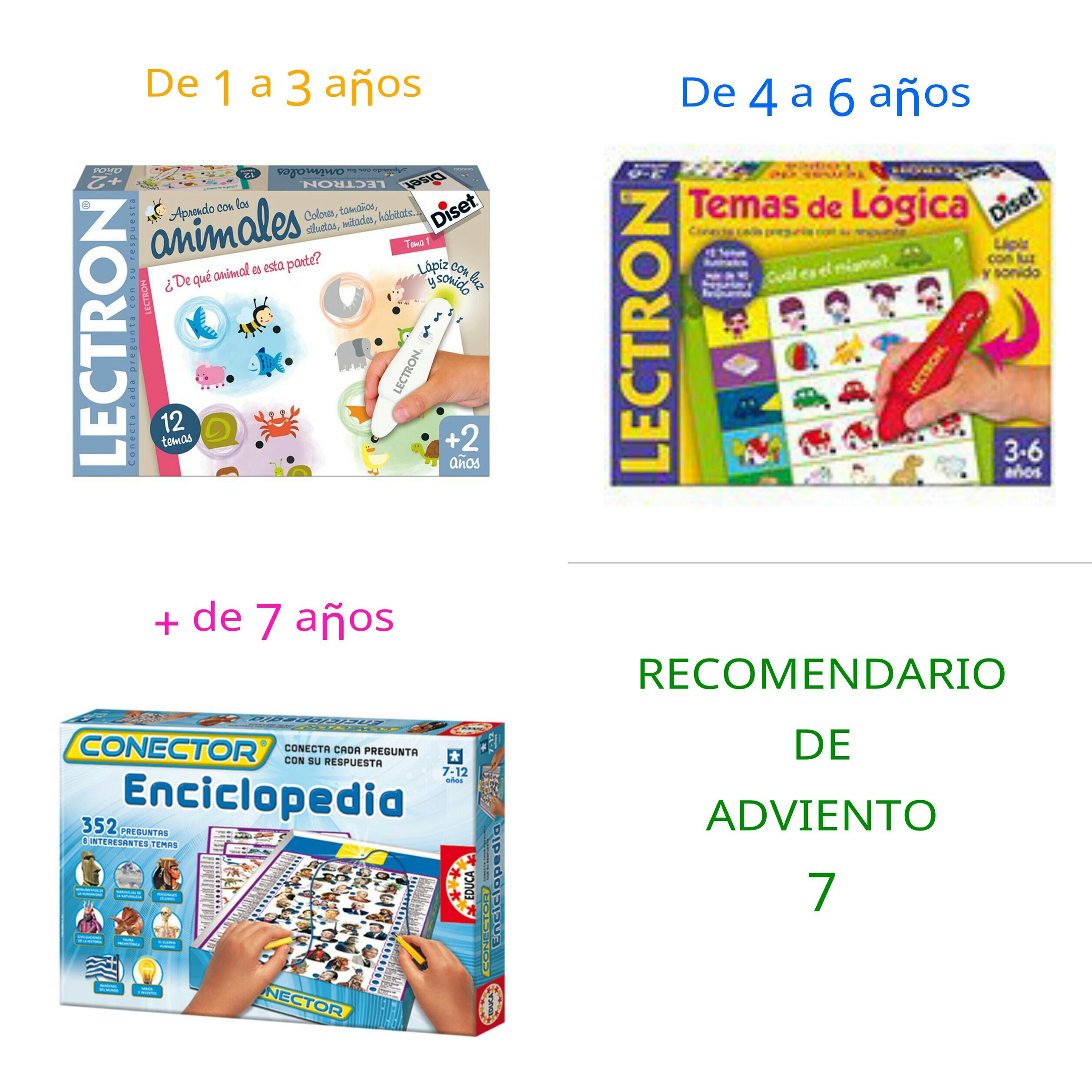 Ideas de regalos para niños. Recomendario de adviento 7