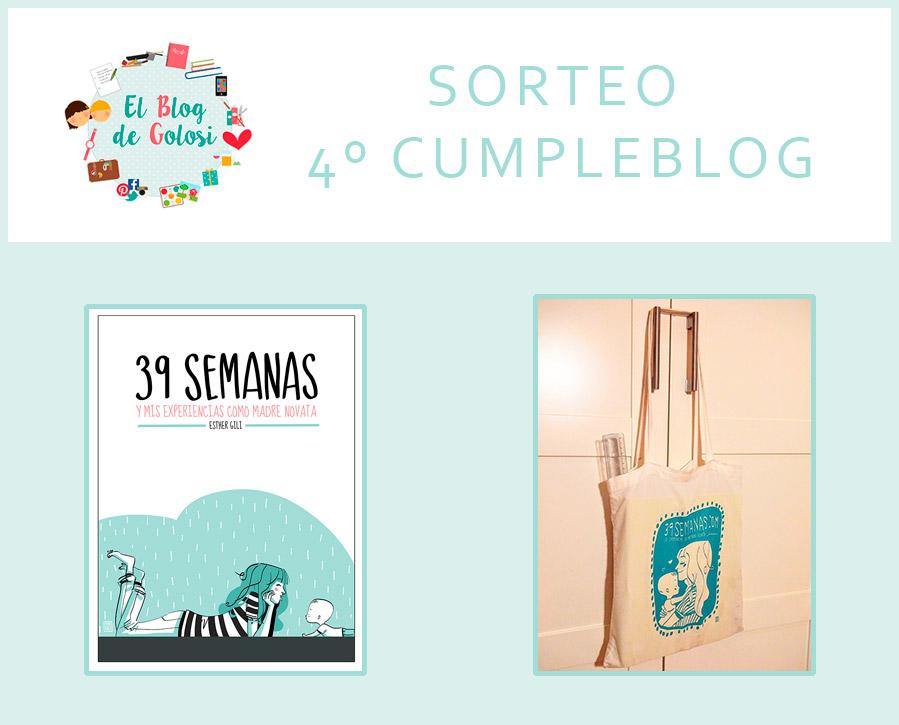 Sorteo aniversario libro y bolsa 39 semanas blog