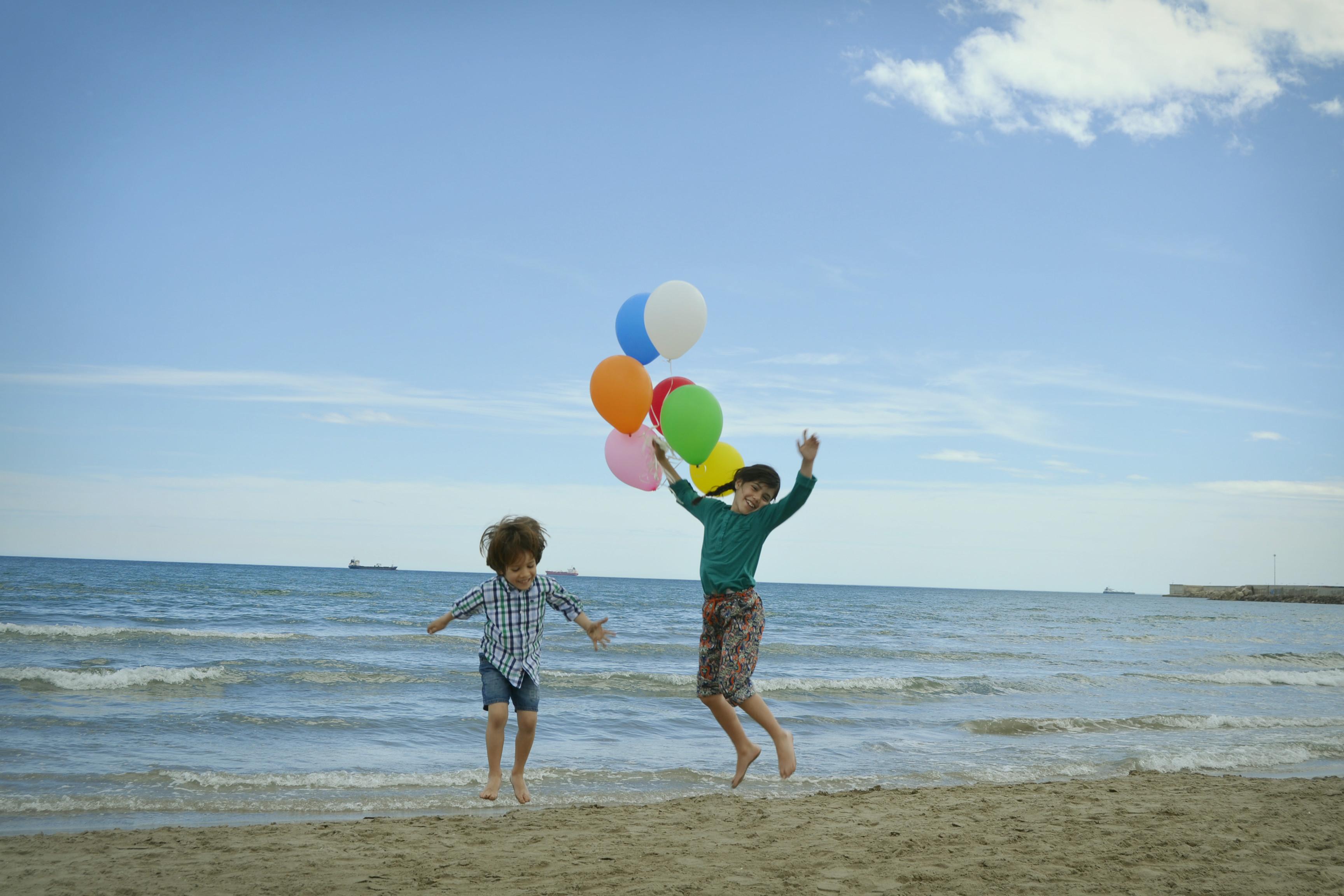 Globos de helio para hacer fotos bonitas