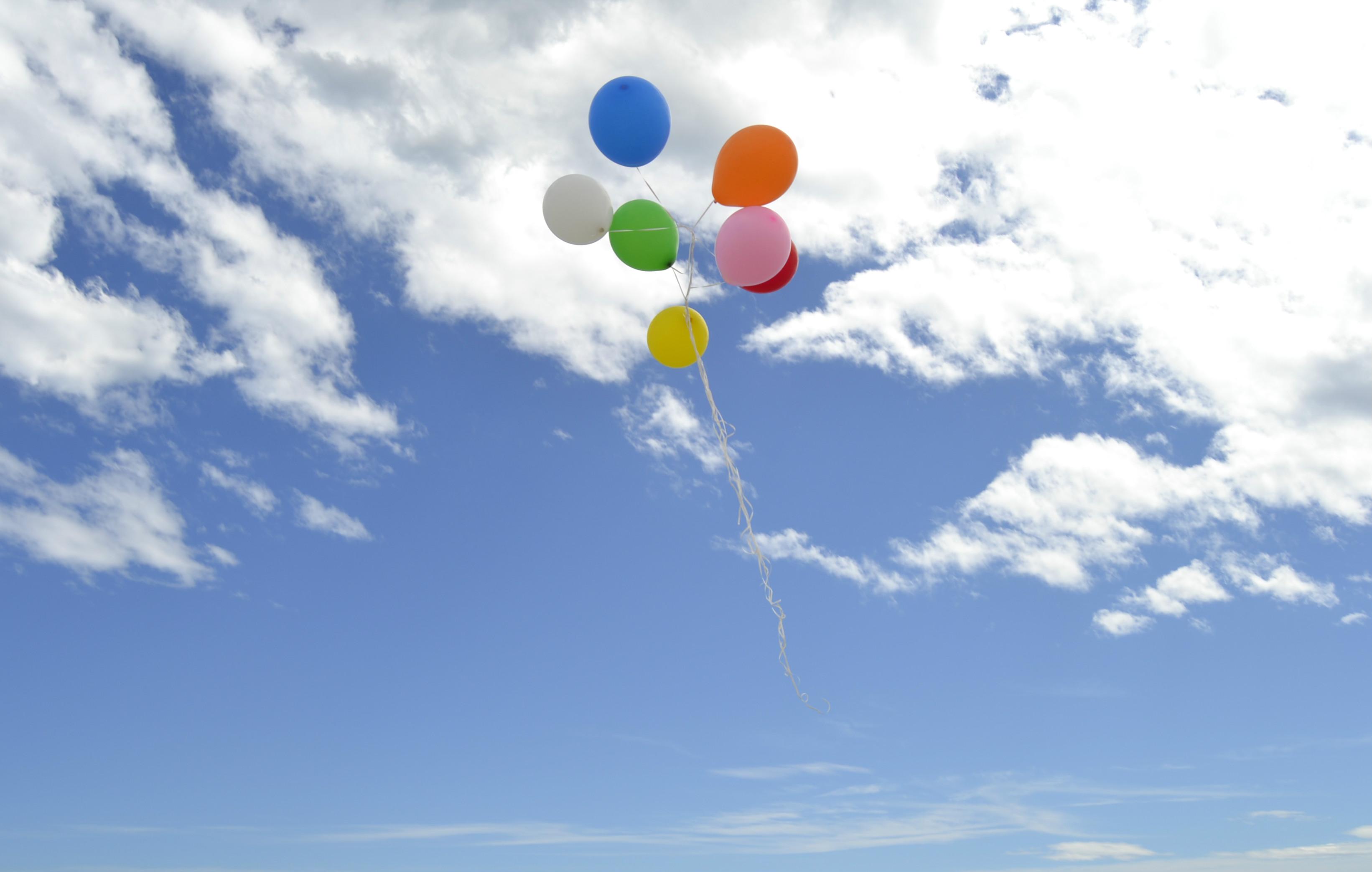 Globos de helio para fotos