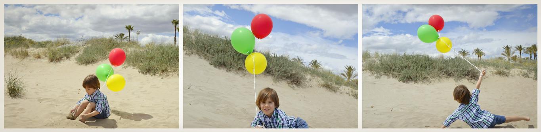Hacer fotos bonitas con globos de helio