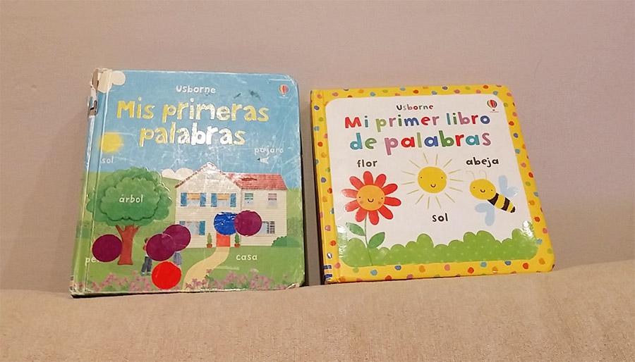 Libros mis primeras palabras con gomets
