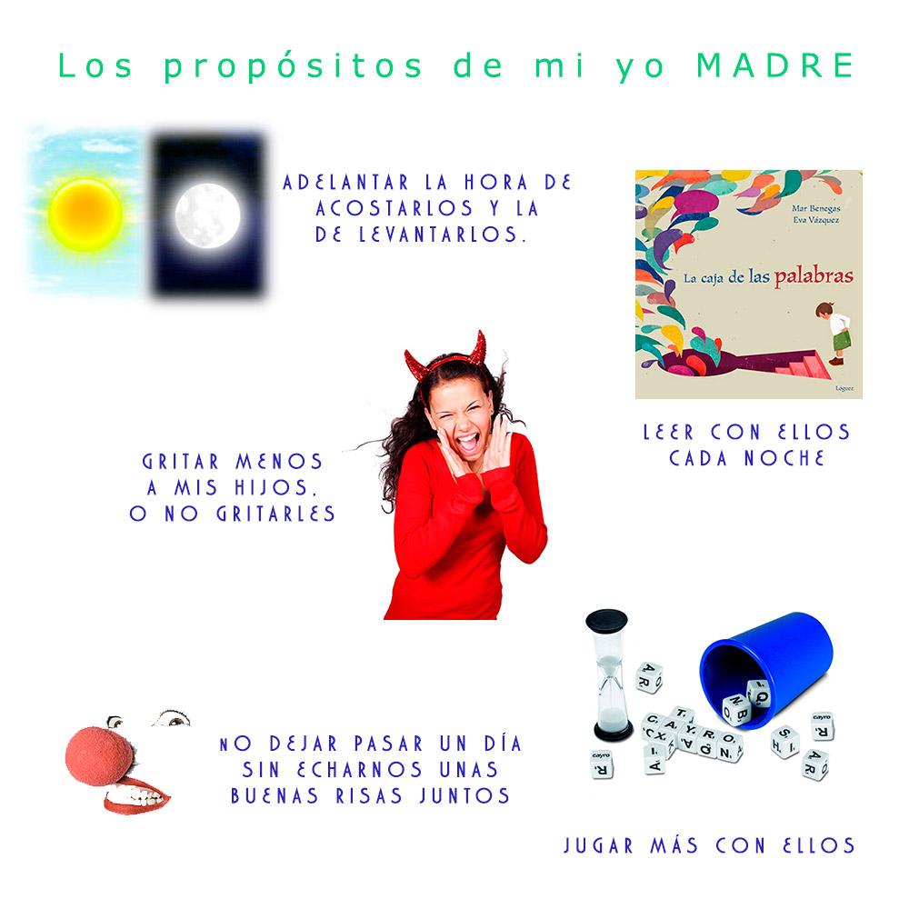 El Blog de Golosi. Propósitos de mi yo madre.