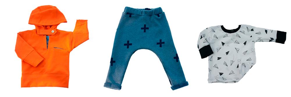 Shortish, ropa moderna para niños