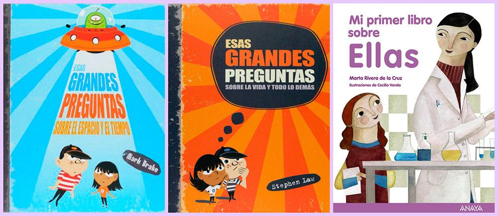 Libros sobre curiosidades para niños