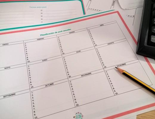 Plantillas para planificar los post de tu blog
