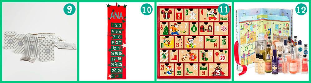 20 calendarios de adviento que puedes comprar