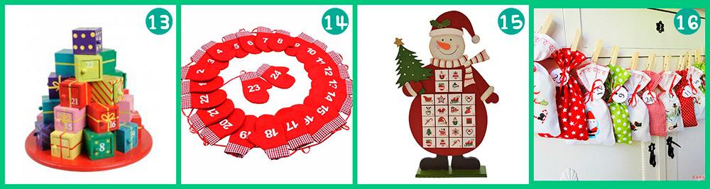 Calendarios de adviento para comprar. El Blog de Golosi