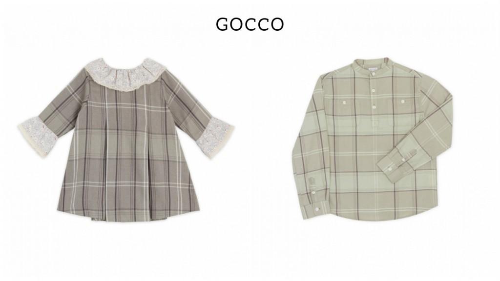 Vestir a tus hijos a conjunto con Gocco