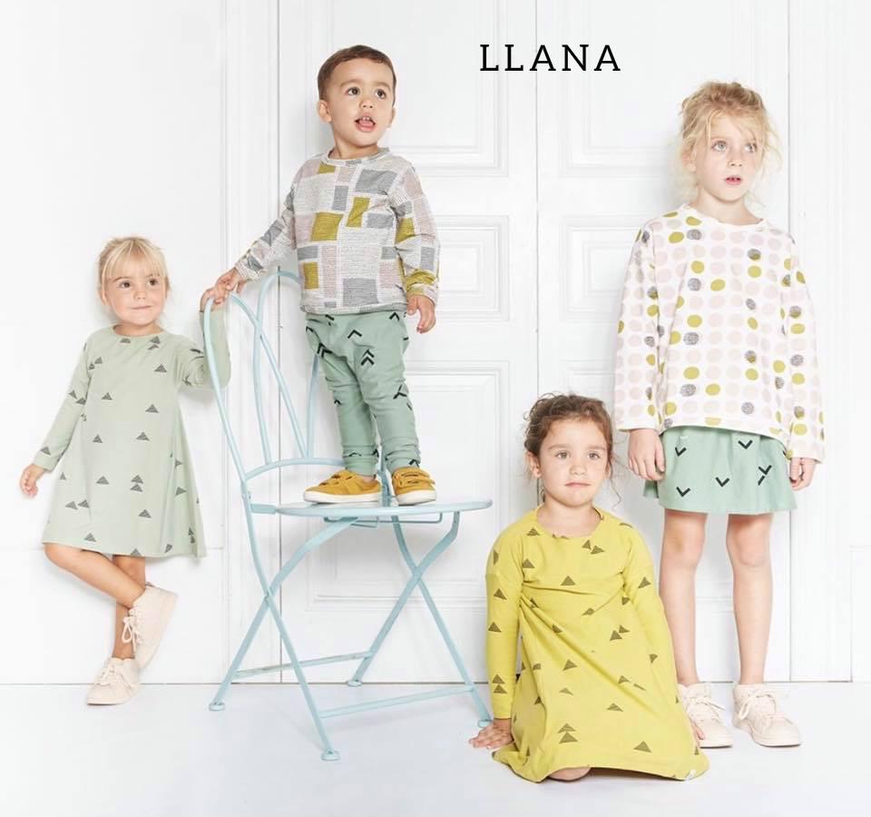 Vestir a niño y niña conjuntados con Llana