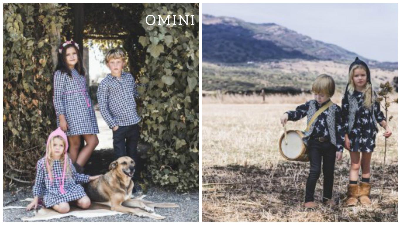 Niños y niñas conjuntados con Omini
