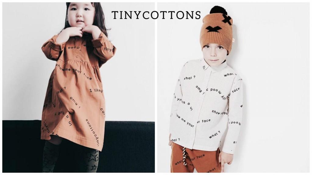 Vestir iguales a los niños con Tinycottons