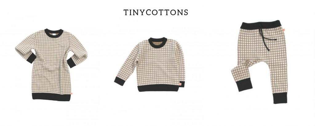 Tinycottons para vestir a niña y niño
