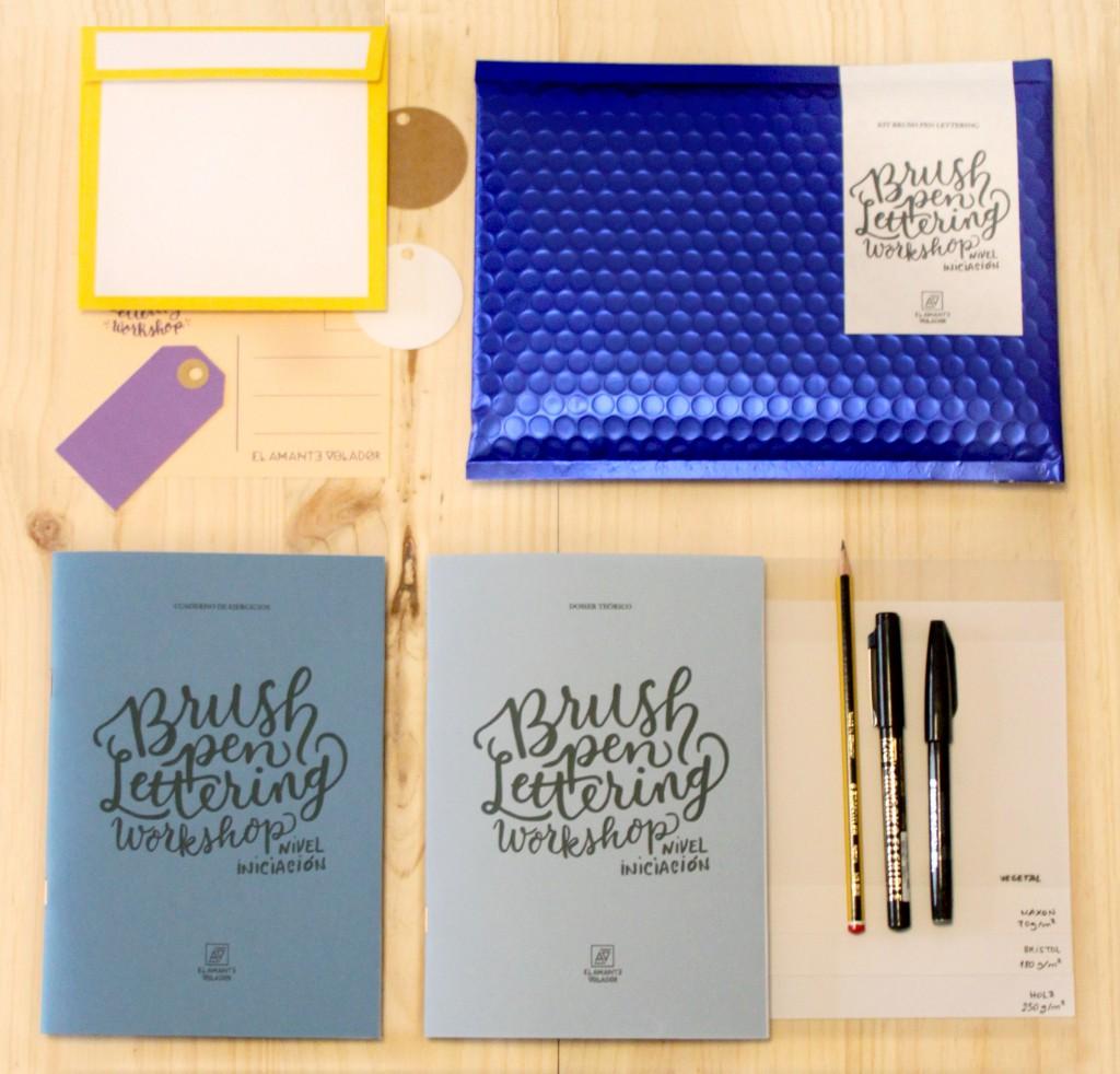 kit_lettering El Amante Volador. Castellón