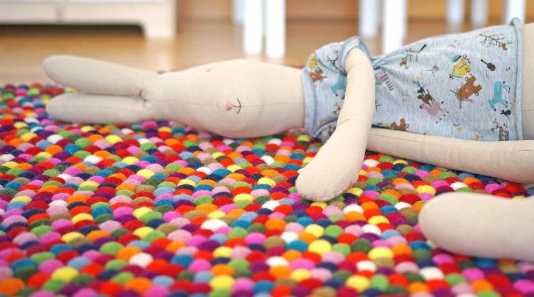 Decoraci n infantil alfombras artesanales para ni os sukhi - Alfombras de goma espuma para ninos ...