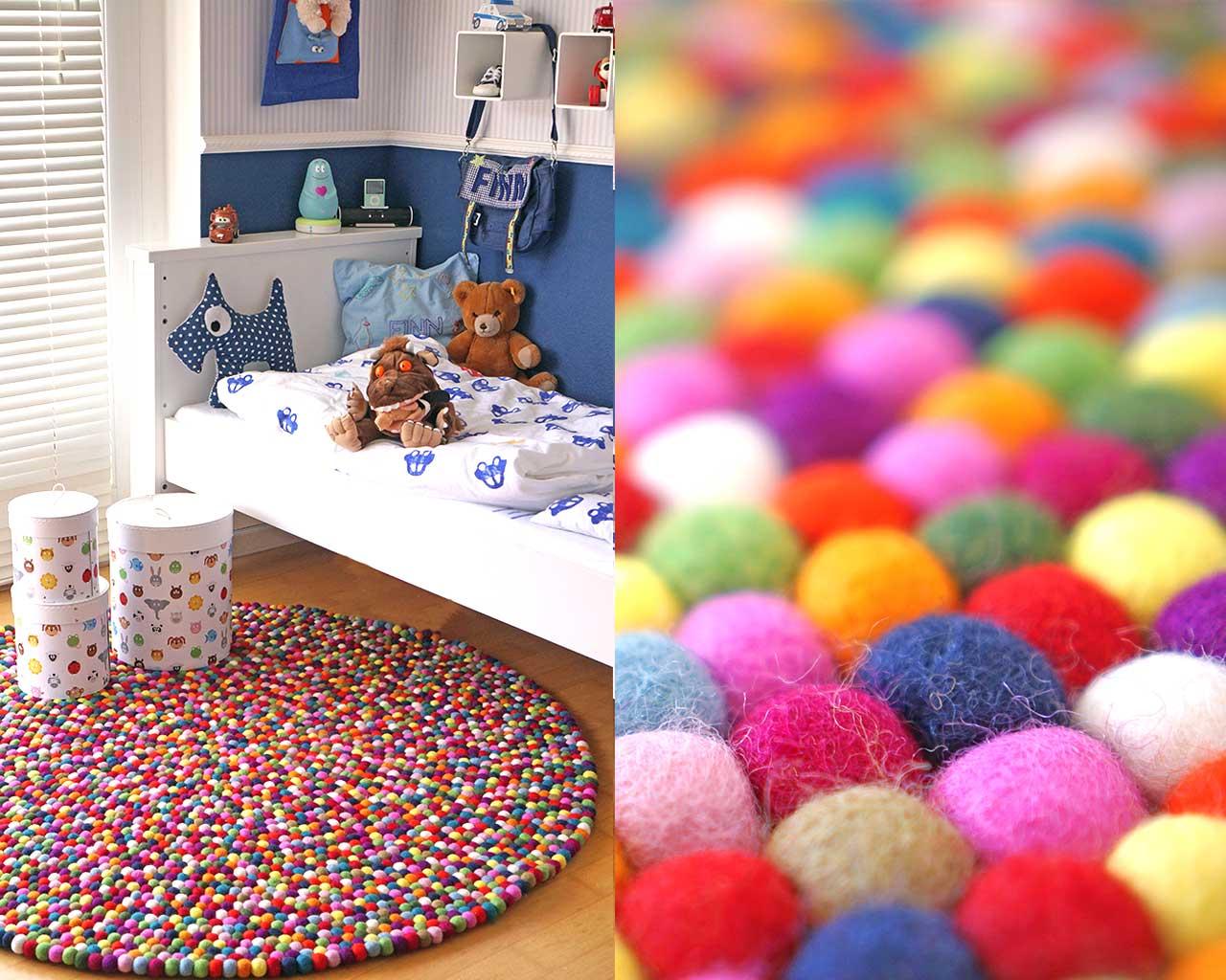 Decoraci n infantil alfombras artesanales para ni os sukhi - Alfombras ninos ...