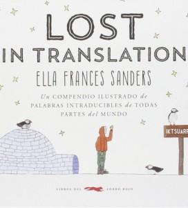Regalos para niña 9 años. Libro Lost in translation