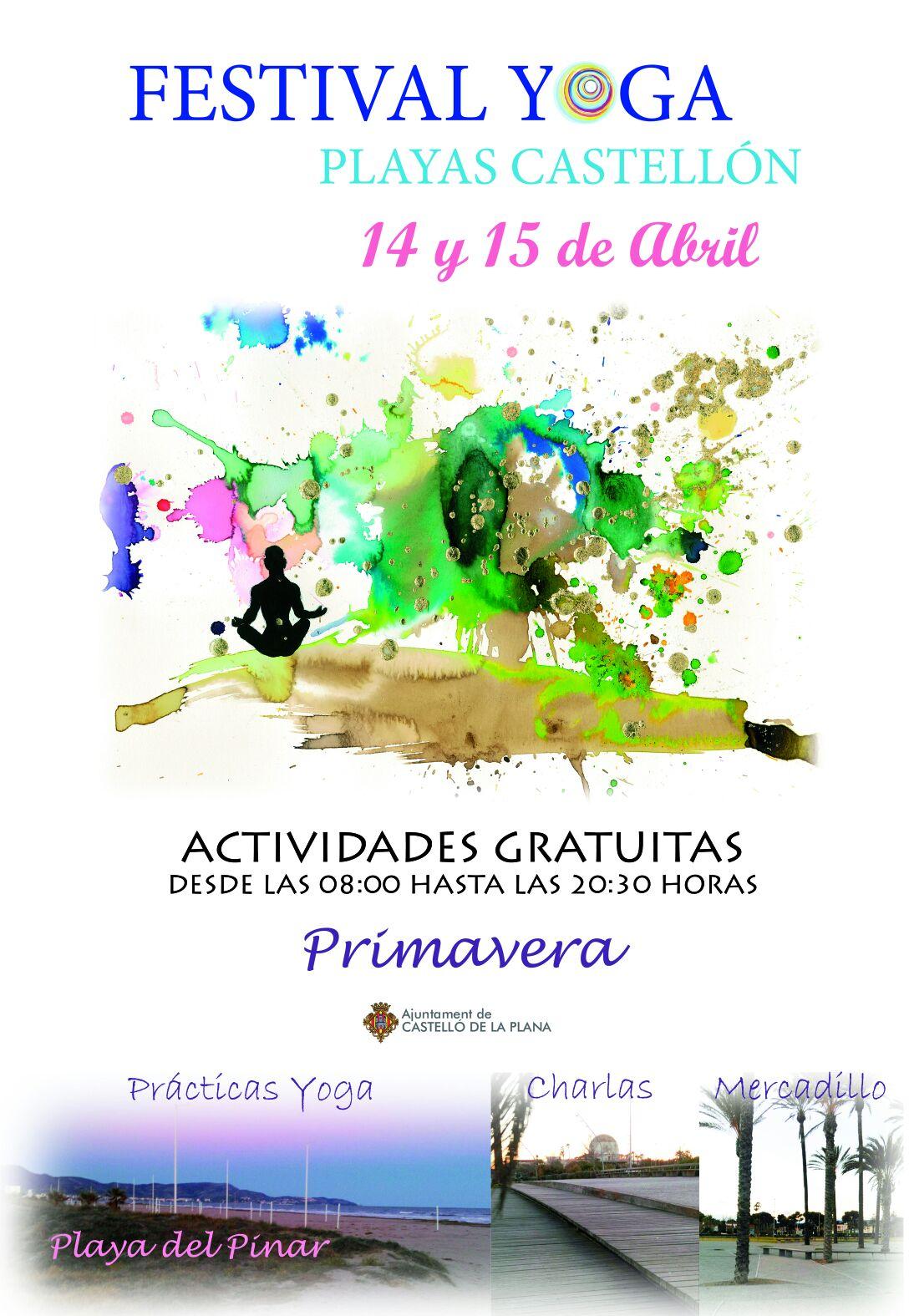 Actividades-para-niños-en-Castellón. Festival de Yoga